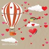 Vector heart illustration Stock Photo