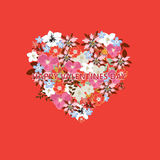 Vector heart illustration Royalty Free Stock Photos