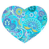 Vector heart shape design Stock Images