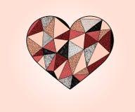 Vector Heart Royalty Free Stock Image