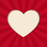 Vector heart. Royalty Free Stock Photos