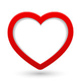Vector heart. Stock Photography