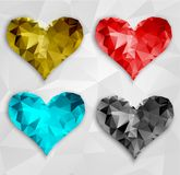 Vector heart. Valentines day. EPS 10 Stock Photography