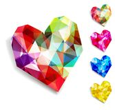 Vector heart. Valentines day. EPS 10 Royalty Free Stock Photo