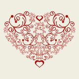 Vector hearts... Stock Images