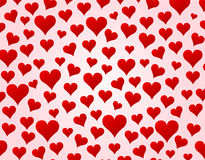 Vector hearts background Stock Photo