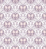 Vector hearts seamless pattern Stock Image