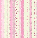 Vector hearts seamless pattern. Hearts seamless pattern to Valentines`s day. Suitable for wallpaper, wrapping or textile Stock Photography