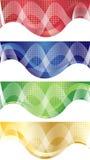 Vector heldere banner Stock Afbeelding