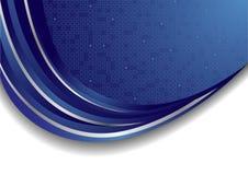 Vector heldere blauwe achtergrond Royalty-vrije Stock Foto