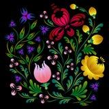 Vector heldere bloemen Stock Fotografie