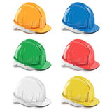 Vector helmet icons Royalty Free Stock Photo