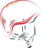 Vector Helmet Stock Images