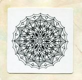 Vector henna tattoo mandala.Decorative pattern in oriental style. Coloring book page. Hand drawing mandala element.Decorative pattern in oriental style.The best royalty free stock photos