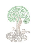 Vector henna tree Stock Photo