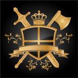 Vector heraldisch patroon Stock Afbeelding