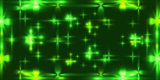 Vector herbal background with shining light metal stars. For registration of paper or banners Royalty Free Stock Photo