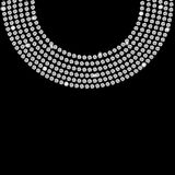 Vector hermoso abstracto del fondo del diamante negro ilustración del vector