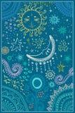 Vector hermoso de la tarjeta Foto de archivo libre de regalías
