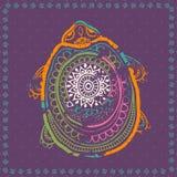 Vector hermoso de la tarjeta Fotos de archivo