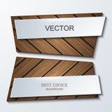 Vector het elementenontwerp van moderbanners Royalty-vrije Stock Foto's