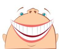 Vector het lachen gezicht. Royalty-vrije Illustratie