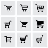 Vector het winkelen pictogramreeks Stock Fotografie