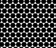 Vector hexagon abstract geometrisch naadloos patroon Stock Afbeeldingen