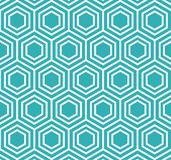 Vector Hexagon Pattern Background stock photography
