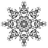 Vector hexagonal design Stock Photos