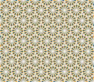 Vector Hexagonal Geometric Pattern Stock Image