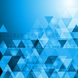 Vector hi-tech bright background Royalty Free Stock Photography