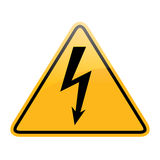 Vector high voltage Stock Photography