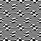 Vector hipster abstract geometry pattern 3d, black and white seamless geometric background Stock Image