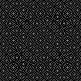 Vector hipster abstract geometry pattern flower,black and white seamless geometry background Royalty Free Stock Photography