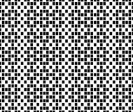 Vector hipster abstract geometry pixel pattern,black and white seamless geometry background Stock Photography