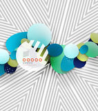 Vector hipster geometric shape background Royalty Free Stock Image
