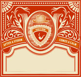Vector. Hipster retro card. Organized by layers. Hipster retro card. Organized by layers royalty free illustration