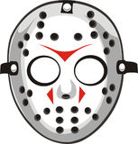Vector hockey mask Stock Photography