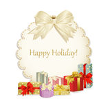Vector holiday background Stock Photography
