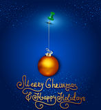 Vector holiday background Stock Images