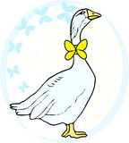 Vector holiday goose Royalty Free Stock Photos