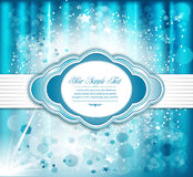 Vector holiday greeting background Royalty Free Stock Photos