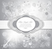 Vector holiday greeting background Stock Photos