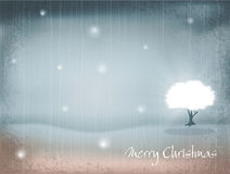 Vector holiday, New Year's, retro background Stock Image
