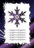 Vector. Holiday Postcard Stock Photography