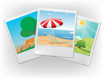 Vector holiday's pictures Stock Photo