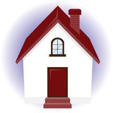 Vector home icon Royalty Free Stock Photography