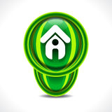 Vector home icon illustration Royalty Free Stock Photo