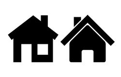 Vector home icon Stock Photography